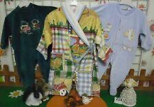 vêtements occasion garçon 12 mois,grenouillères velours,combinaison peignoir