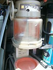 SNOW CONE MACHINE, HAWAIIN SHAVED ICE, HATSUYAKI, 115V, USED,900 ITEMS ON E BAY