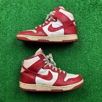 OG 1985 Nike Dunk St John Chicago Red White Black Rare Vintage 85 Air Jordan 1