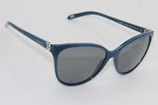 TIFFANY & CO. SUNGLASSES TF 4089-B 8182/3F BLUE AUTHENTIC SUNGLASSES 58-16