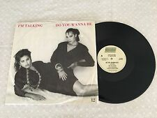 "I'M TALKING DO YOU WANNA BE KATE CEBERANO 1986 AUSTRALIAN RELEASE LTD ED 12"" 45"