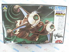 Space Runaway Ideon 1/600 Scale Buff Clan Abuzonohru Model Kit Aoshima Japan