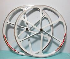 New Mag Alloy WHITE 700C Fixed Gear/Single Speed Fixie Bike Rims(F&R)