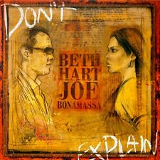 Beth Hart & Joe Bonamassa DON'T EXPLAIN Provogue Records NEW SEALED VINYL LP