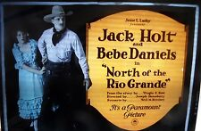 NORTH OF THE RIO GRANDE - MOVIE NEGATIVE - JACK HOLT AND BEBE DANIELS