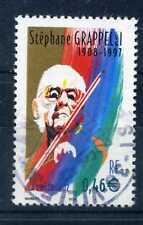 FRANCE - 2002 - timbre 3504, S. Grappelli, oblitéré