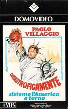 SISTEMO L'AMERICA E TORNO (1974) VHS ORIGINALE 1ª EDIZIONE