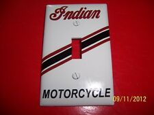 1- INDIAN MOTORCYCLES Standard Light Switch Plate Cover (NEW) Vintage Looking