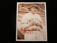 1995 New York Yankees Yearbook - Babe Ruth Cover
