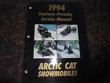 1994 ARCTIC CAT PANTERA PROWLER SNOWMOBILE SLED SERVICE SHOP REPAIR MANUAL