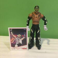 WWE WWF MATTEL REY MYSTERIO WRESTLING FIGURE WITH CARD   619 SHIPS FREE