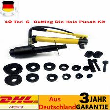 22-60mm 10T Hydraulische Lochstanze Blechlocher Locheisen Hydrauliczne Werkzeuge