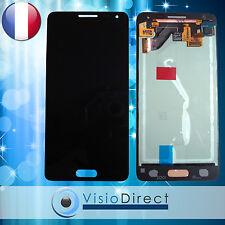 Ecran complet pour Samsung Galaxy Alpha G850 noir vitre tactile + ecran LCD