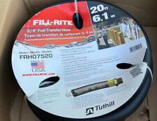 New listing Fill-Rite Frh07520 3/4-Inch x 20-Foot Static Wire Internal Spring Guards Hose