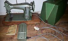 VINTAGE JONES ELECTRIC SEWING MACHINE FAMILY C S MODEL E & INSTRUCTIONS