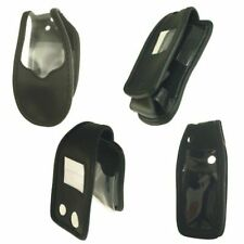 Funda para móvil cuero genuino con clip para cinturón motorola PEBL u6