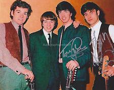 The Merseybeats Hand Signed 8x10 Photo Tony Crane Billy Kinsly Original Members