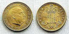 ESTADO ESPAÑOL. 1 PESETA 1953*19-56 MADRID. UNC/SC/FDC. COLOR Y BRILLO ORIGINAL