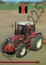 A3 Case McCormick International Harvester Tractor Brochure Poster 1056XL Rare!