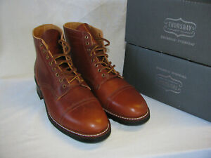 Thursday Boot Company Vanguard Boot Whaley Leather in Brown Tan, Size 11