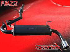 Sportex Mazda MX5 performance exhaust system 04/1998-08/2000 S3