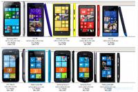 nokia lumia 520 530 550 610 620 625 635 640 650 735 820 830 mix GRADEs