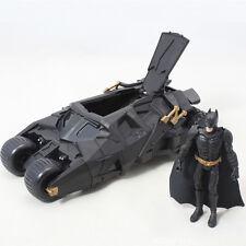 Batman Dark Knight Batmobile Tumbler Black Car Vehicle Toys With a Figure Box UK