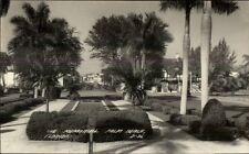 Palm Beach FL Memorial Real Photo Postcard