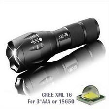 12000Lumens XML T6 LED Zoomable Flashlight Tactical Super Light Torch Lamp