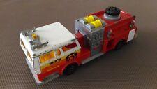 Camion Miniature Majorette « Pompe A Incendie » 1/47 En Bon Etat.