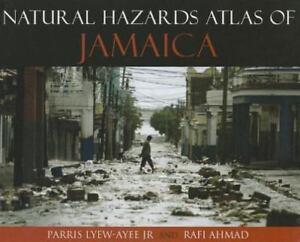 NATURAL HAZARDS ATLAS OF JAMAICA - NEW HARDCOVER BOOK