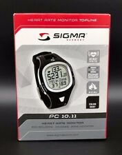 Sigma PC 10.11 Heart Rate Monitor Gray New