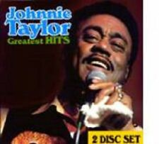 Johnnie Taylor - Greatest Hits - 2 CD Set New Factory Sealed Cd