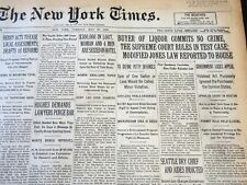 1930 MAY 27 NEW YORK TIMES - BUYER OF LIQUOR COMMITS NO CRIME RULES - NT 5655