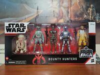 "Star Wars Celebrate the Saga Bounty Hunters 3.75"" Action Figure Set Mandalorian"