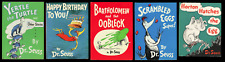 Dr. Seuss Book Collection (Random House Various) 5 books in GD+/FN+, all w/ DJs.