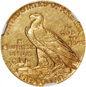 1912-S $5 Gold Half Eagle, Stunning and Rare, Near Uncirculated NGC AU-55, #SQSt