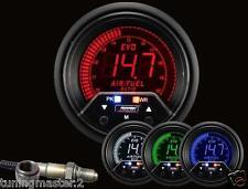 Manometro Strumento PROSPORT EVO 60mm Wideband AFR air fuel Allarme Picco 4 colo