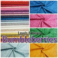 Lewis & Irene Bumbleberries Multi-Tonal 100% Cotton Patchwork Fabric Blender