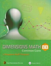 Dimensions Math™ Common Core Textbook 8B NEW- FREE SHIPPING! ! !