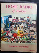 More details for mitcham london home radio shop 1962 component catalogue