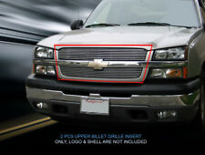 Billet Grille Grill Insert For 2002-2006 Chevy Avalanche/2003-2005 Silverado