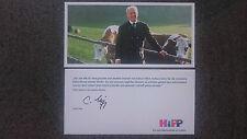 AK m. Orig.AG Claus Hipp deutscher Unternehmer Baby Nahrung Rarität