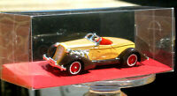 models of yesteryear by Matchbox 1935 AUBURN 851 Brown Clear Display Box