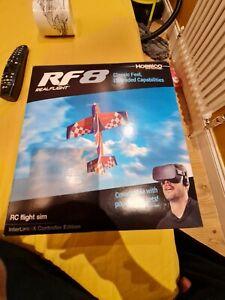 RealFlight 8 RC Flight Simulator with  InterLink- X  controller