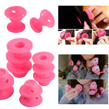 Soft Silicone Spiral Rollers Mushroom Curlers DIY Magic Hair Styling Tools