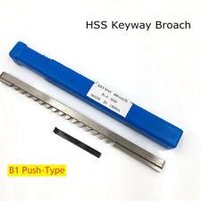 4mm Hss B1 Push Type Keyway Broach Metric Size Cutting Tool For Cnc Machine