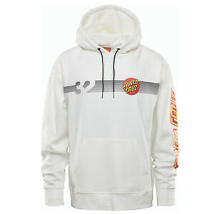THIRTYTWO 32 Mens 2021 - SANTA CRUZ Repel Pullover Hoodie Sweater - White