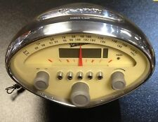 Vespa radio/alarm clock