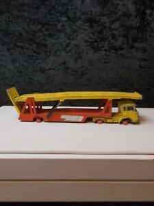 Vintage Matchbox Lesney Kingsize DAF Car Transporter x 2 Diecast  Lot 7